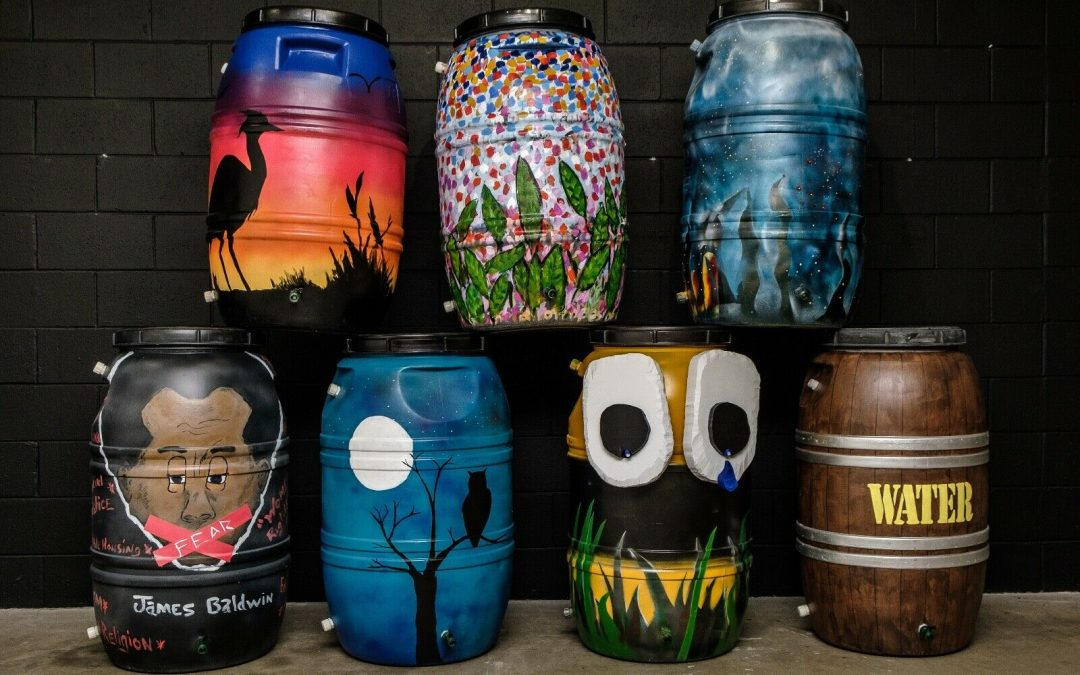 Rain Barrel Auction